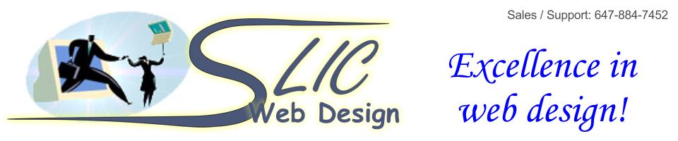 SLIC Web Design